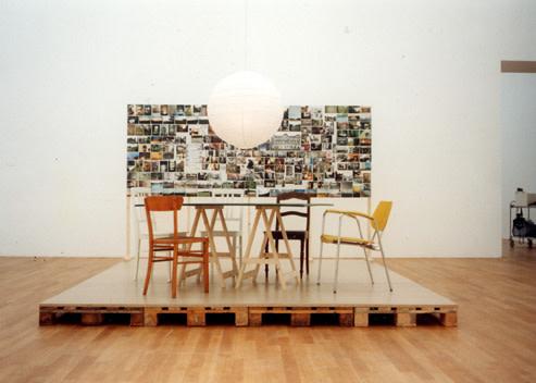 Silke Schatz, Installation Shot: Brent Sikema, New York 2000