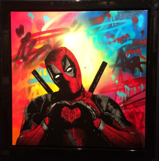 Lee Henderson, Deadpool, 2018
