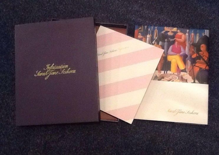 Sarah Jane Szikora, Infatuation Signed Limited Edition Book & Print
