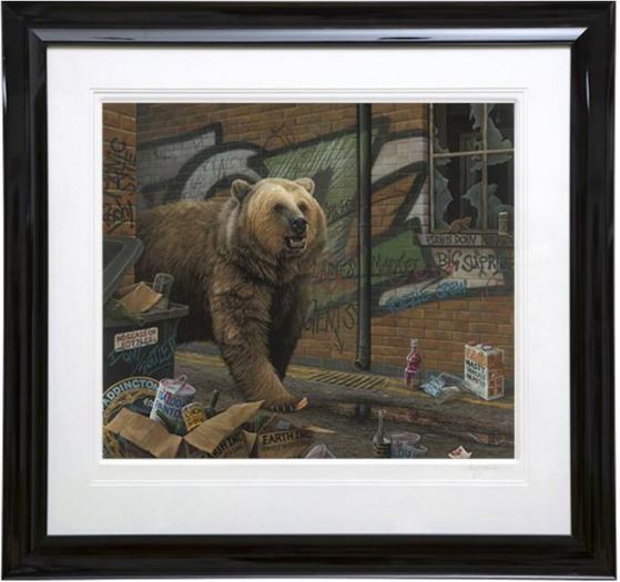 Paul James, Grizzly - Paper , 2017