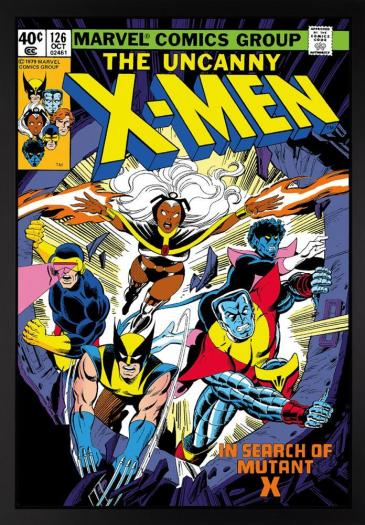 The Uncanny X-Men #126 - In Search Of Mutant X - Boxed Canvas Edition