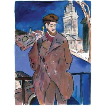 Bob Dylan, Man On A Bridge, 2014