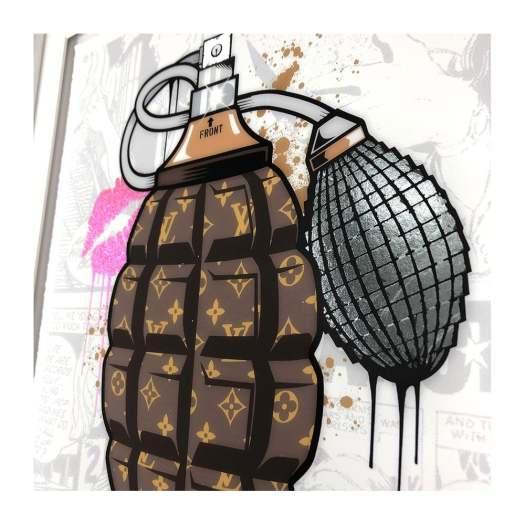 JJ Adams, Designer Grenades - Louis Vuitton Perfume, 2020