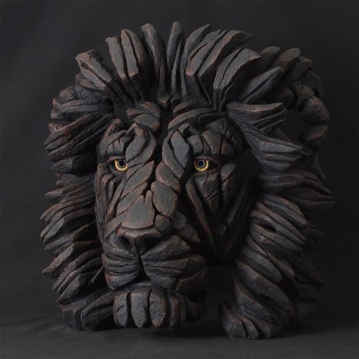 Matt Buckley, Lion Bust - Black , 2017