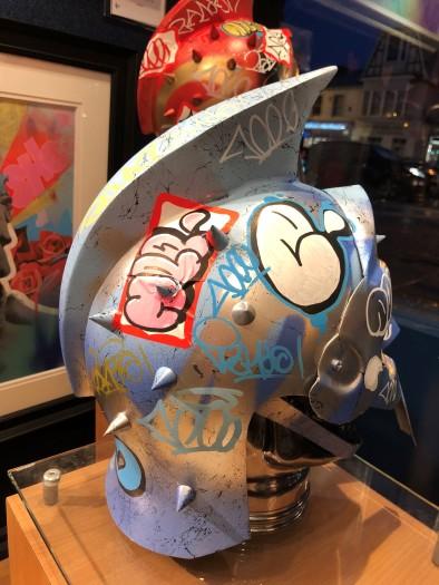 Vandal Helmet - Blue/Silver