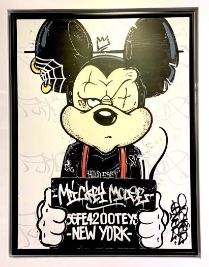 Opake One, Mickey Mouse Mug Shot , 2019