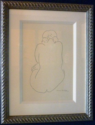 Matisse - Line Drawing 49