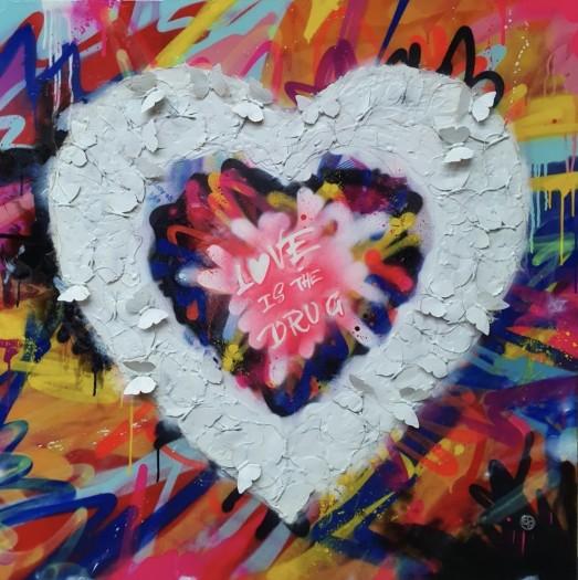 Dan Pearce, Love Is The Drug, 2020