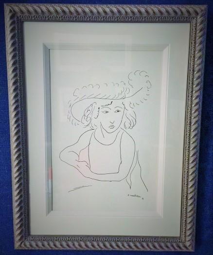 Matisse - Contour Drawing 1919