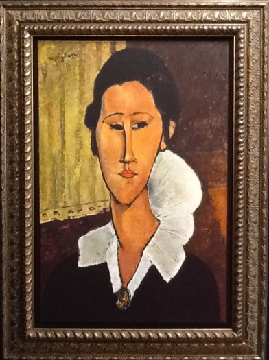 Portrait of Hanka Zborowska by Amedeo Modigliani