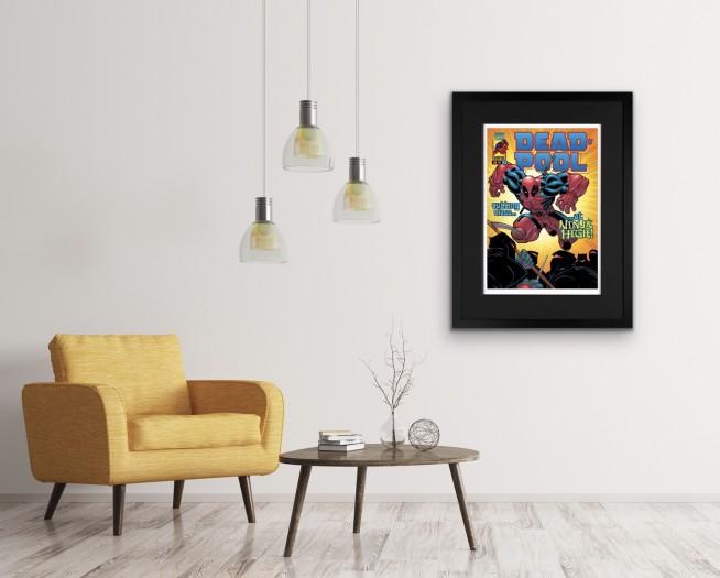 Marvel/ Stan Lee, Marvel Superheroes - Portfolio of 6 , 2018