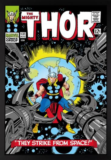 The Mighty Thor #131 - They Strike From Space! - Boxed Canvas Edition