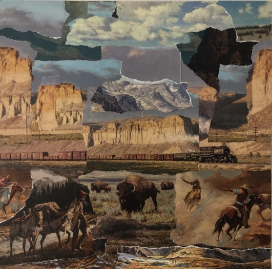 William Greiner, Fractured Land, 2019