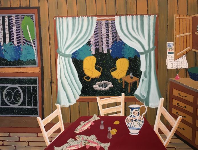 Cindi Holt, Cabin, 1998