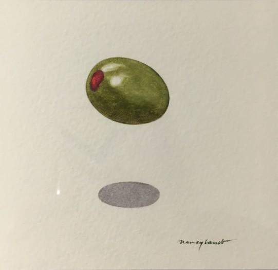 Nancy Lamb, Green Olive, 2019