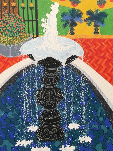 Cindi Holt, The Fountain