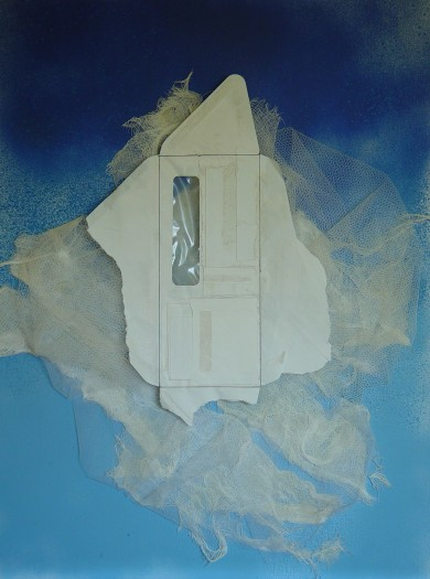 Ruth A. Keitz, Floating Door with Cloud View, 2020