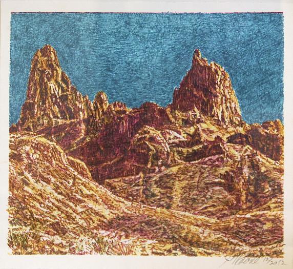 Jim Malone, Landscape (Mule Ears)