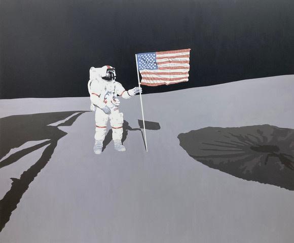 Leslie Lanzotti, Moon Man, 2020