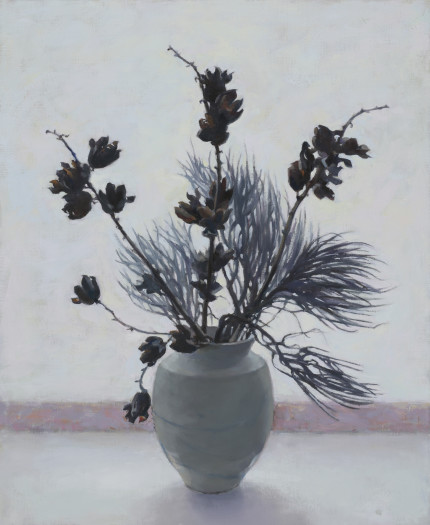 Carol Ivey, Yucca with Chamisa, 2017