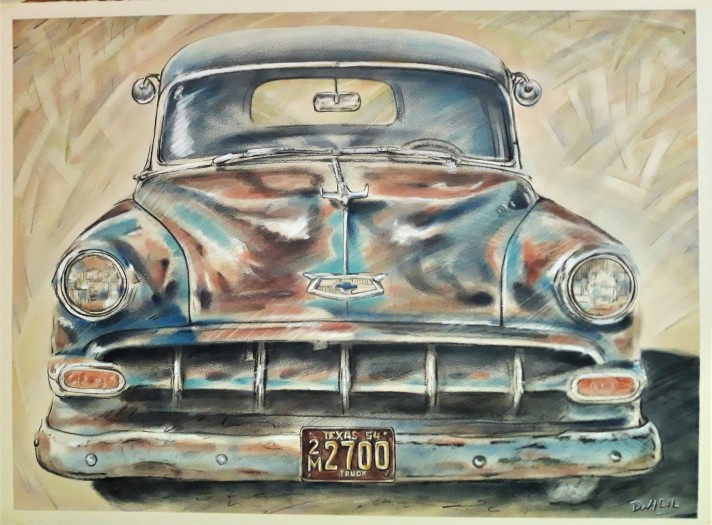 David Heil, 1954 Chevrolet Wagon, 2020