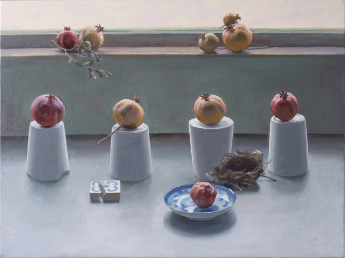 Carol Ivey, Pomegranate Grouping, 2013