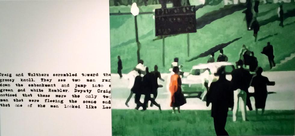 Leslie Lanzotti, Green Gambler, 2014
