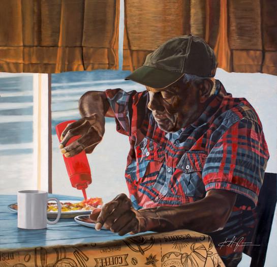 Karl Melton, Breakfast in Clarksdale, 2019