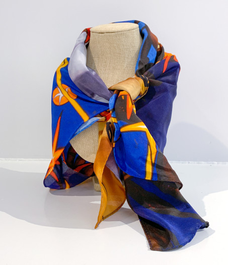 The Nancy Lamb Shop, Silk Scarf | Inside Constellation