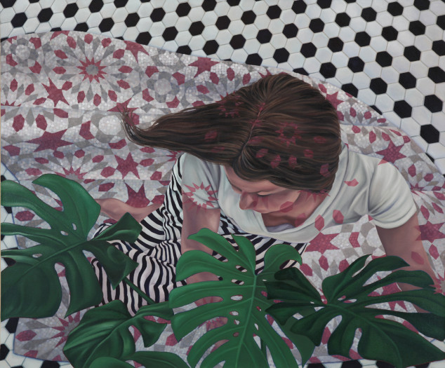 Devon Nowlin, Pink Stars Afar, 2016