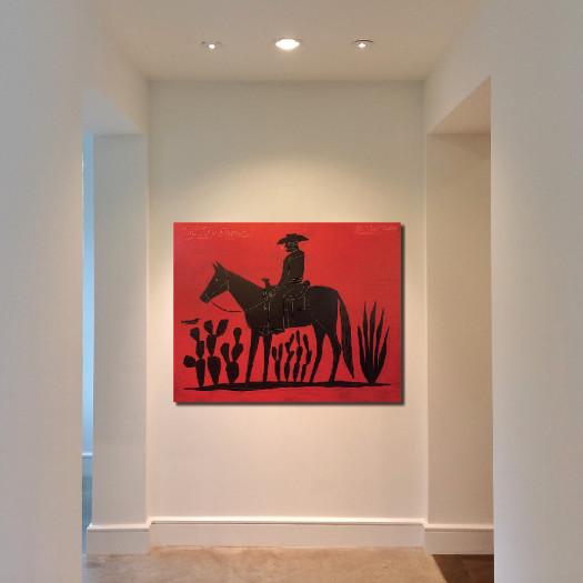 Jon Flaming, Lone Rider, 2016