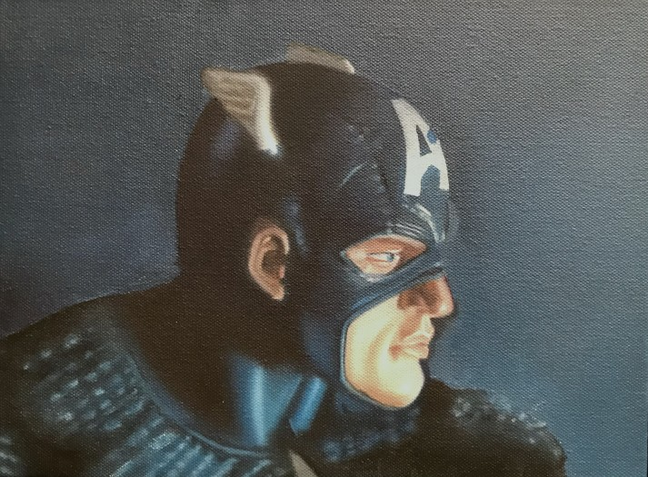 John Hartley, Captain America Study