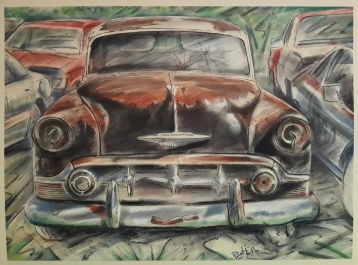 David Heil, 1953 Chevrolet BelAir, 2020