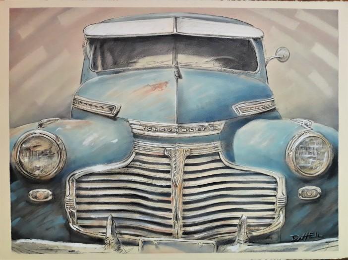 David Heil, 1941 Chevrolet Coupe, 2020