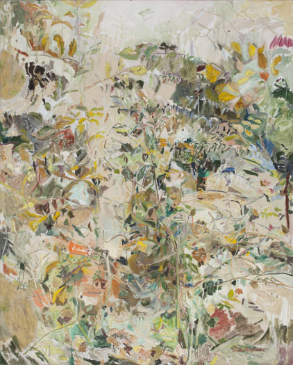 Erika Huddleston, Landscape Recording Static/Dynamic: Central Park, The Ramble XIII, 2018