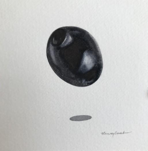 Nancy Lamb, Black Olive, 2020