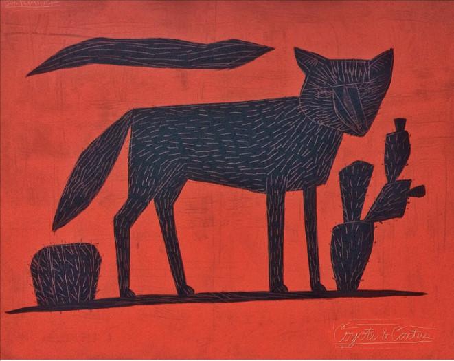 Jon Flaming, Coyote , 2016