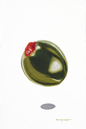 Nancy Lamb, Big Green Olive, 2020
