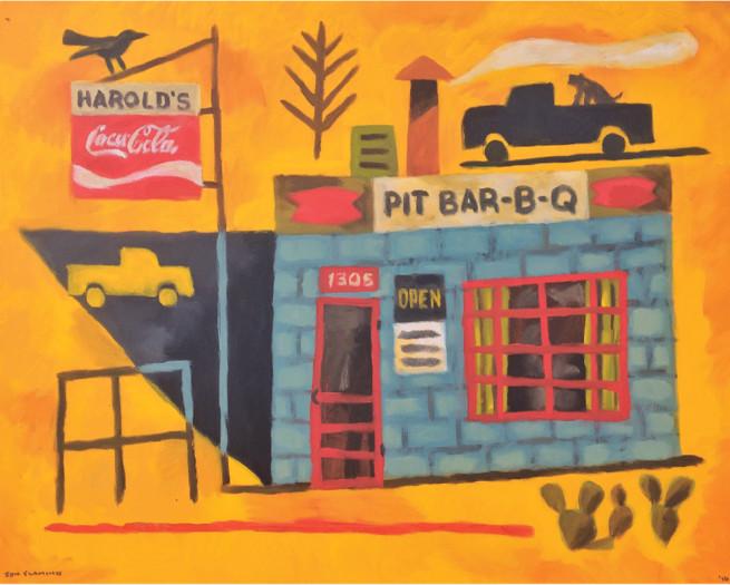 Jon Flaming, Harold's BBQ (Abilene, Texas), 2016
