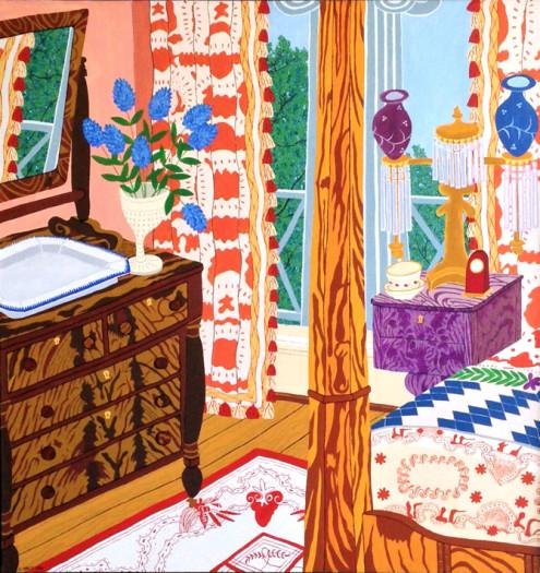 Cindi Holt, Sam Houston Bedroom