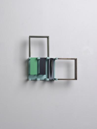 Nahum Tevet, Periscope (With Light Blue & Grey), 2012