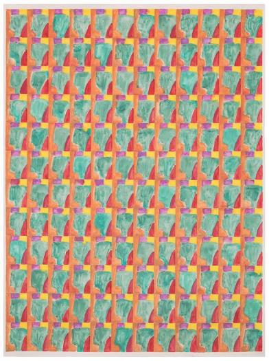 Marijn van Kreij, Untitled (Paul Klee, Schlucht in den Alpen, 1938), 2015
