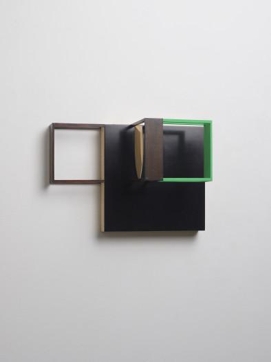 Nahum Tevet, Untitled (Black & Green), 2014