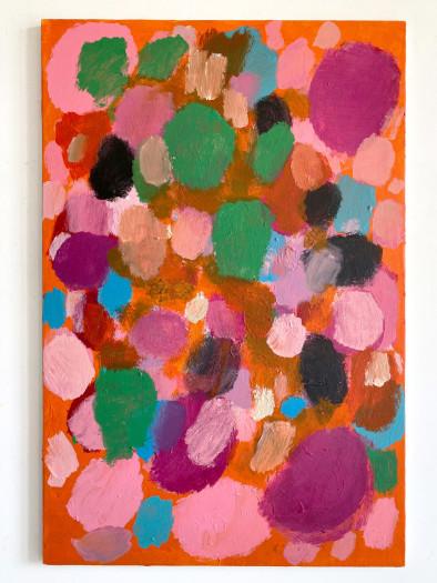 Negar Ghiamat, Untitled (Quiddity of Painting Series), 2020