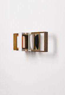 Nahum Tevet, Double Periscope (With Orange), 2011