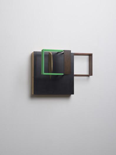 Nahum Tevet, Untitled (With Black & Green) B, 2014