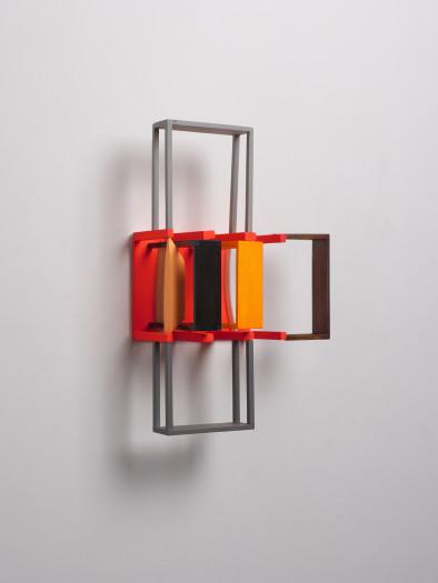 Nahum Tevet, Double Periscope (Red), 2010-2014