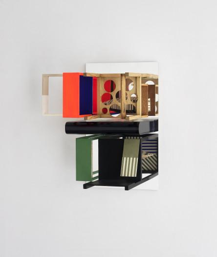 Nahum Tevet, Double Mirrors (With SLDB) B, 2015