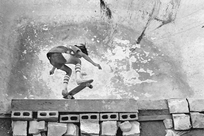 Hugh Holland, Off the Blocks, San Fernando Valley, CA, 1977