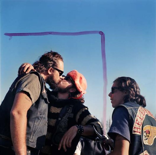 Hell's Angels, Kissing Guys
